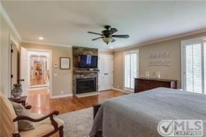Franklin Master Bedroom Fireplace